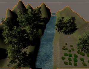 UnityのTerrainで3Dの地形に木を植えてみる!簡単に森や林が作れる!